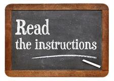 read-instructions-advice-vintage-slate-blackboard-54893465