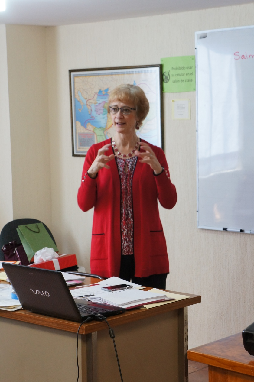 Rachel, Mexico teaching